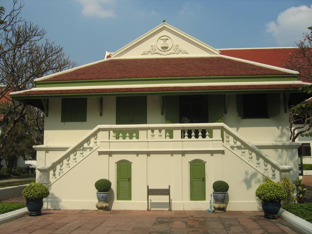 พระราชวังเดิม (พระราชวังกรุงธนบุรี)   ฐานข้อมูลพิพิธภัณฑ์ในประเทศไทย